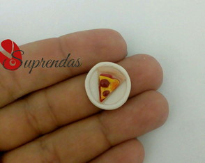 Pizza Miniatura