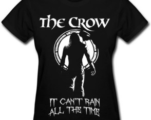 Camiseta The Crow O Corvo goticos rock 053984c1ad240