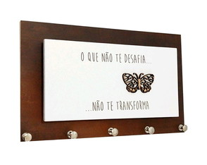 Porta Chaves e Cartas Transformar