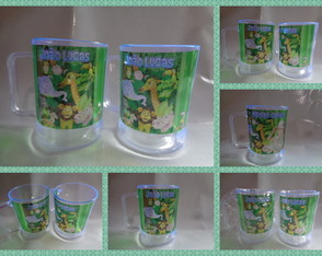 Caneca 300ml Safari ou Floresta 01