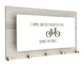 Porta Chaves e Cartas Bike Nórdico