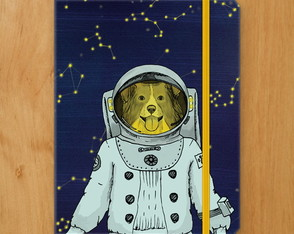 Sketchbook Cachorro Astronauta