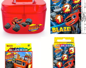 Kit Pintura Blaze monster Machine