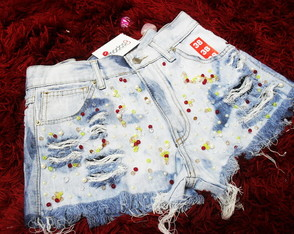 Short Customizado Bordado