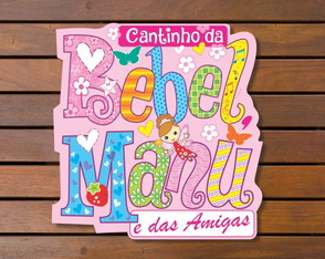 Placa BEBEL e MANU
