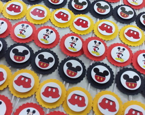 Toppers Pequenos Mickey