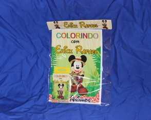 Revista Para Colorir KIT MICKEY PIRATA