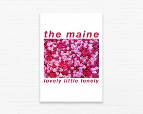 Quadrinho 19x27 The Maine - Lovely Litlle Lonely Flores