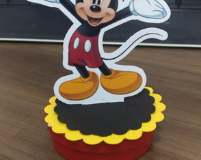 Latinha Mickey mint to be 3D