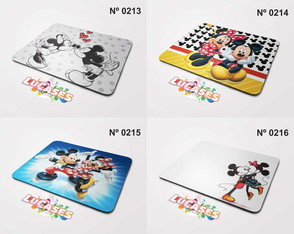 Mouse Pad Mickey e Minnie casal namorados Amor Love Mousepad