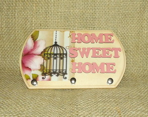 Porta Chaves pequeno Home Sweet Home