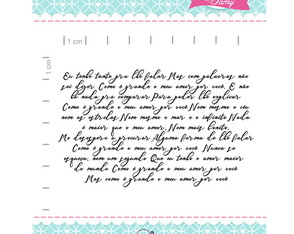 carimbo Manuscrito - scrapbook by Tamy