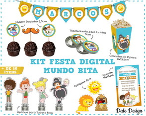 KIT DIGITAL FESTA MUNDO BITA