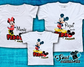 Kit Camisetas- Mickey 01