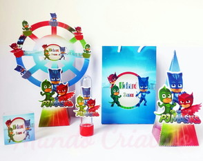 KIT Personalizado PJ MASKS
