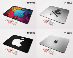 Mouse Pad Apple Steve Jobs Imac MacBook Personalize Mousepad