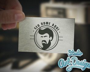 Logotipo Barbearia Pronta entrega 06