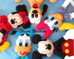 Centro de mesa Turma do Mickey Mouse