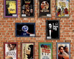 10 Quadros Decorativos Filmes Antigos 02
