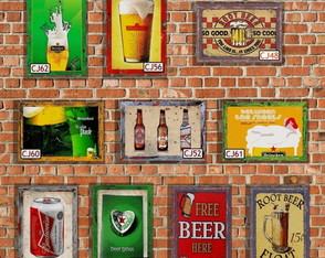 10 Quadros Decorativos Cerveja 15