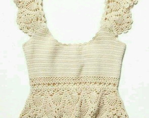 Blusa de Croche Off White