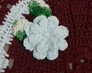Tapetes croche flores