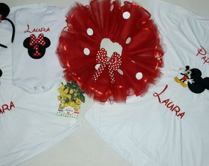 Kit fantasia da minnie