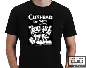 Camiseta Cuphead Game