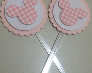 Teg para doces no tema Minnie