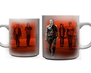 Kit 4 canecas TWD +brinde Chaveiro Lucille