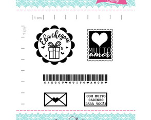 Kit Happy Mail 2 - Scrapbook by Tamy