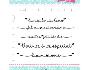 Kit eu te amo - scrapbook by Tamy