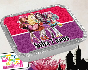 Marmitão 500ml Personalizada Festa Ever After High
