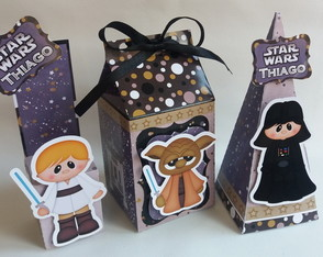 Kit personalizado Star wars