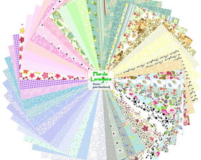 Super Kit Tecidos Multicolorido Patchwork