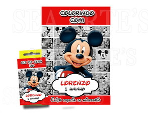 Kit Colorir - Mickey Mouse