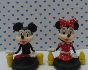 Porta doce turma do Mickey