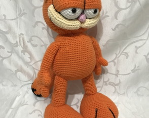 Garfield de Crochê