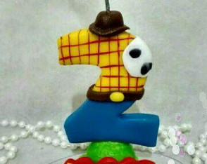 Vela temática Toy Story Biscuit
