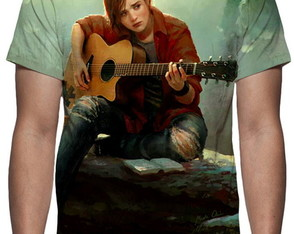 Camiseta Game The Last Of Us - Ellie - Estampa Total