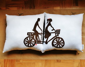 Almofadas Decorativas Bike Lovers