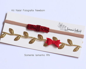 Headband newborn natal (kit)