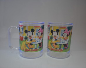 Caneca de 300ml Mickey e Minnie (nv. mod - 01)