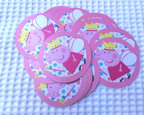 Adesivo p/ Lata Mint to Be Peppa Pig 5x5