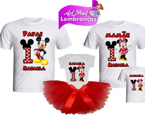 Kit festa da Minnie