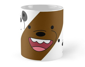 Caneca Urso Sem Curso We Bare Bears