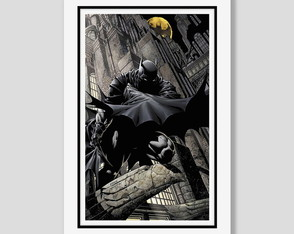 Quadro Batman Dark Knight Filme Cinema Tv Comics Herois