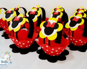 Kit Cestinha Minnie (15 unid.)