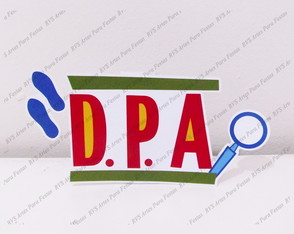 Display de mesa - Logo DPA
