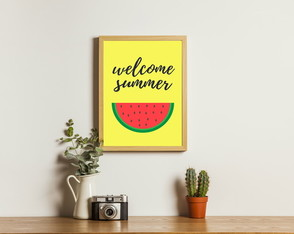 Poster Digital - Welcome Summer